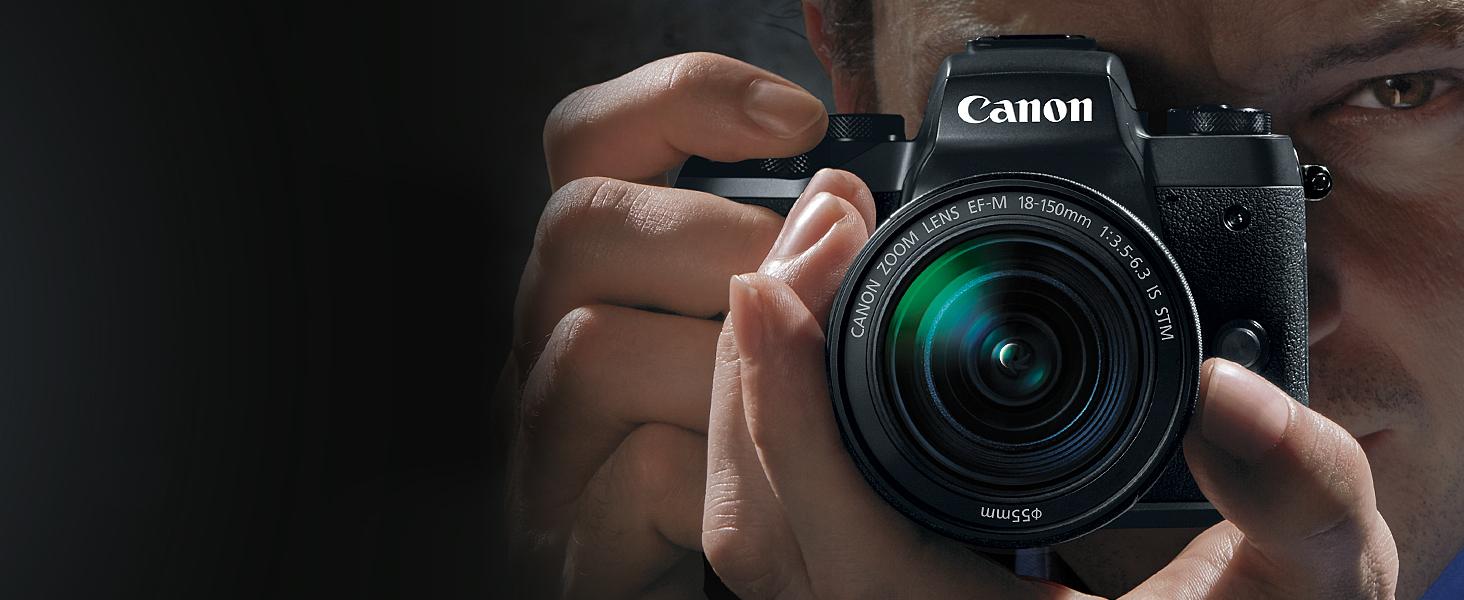 EOS M5, Mirrorless Camera, Canon, Canon Cameras
