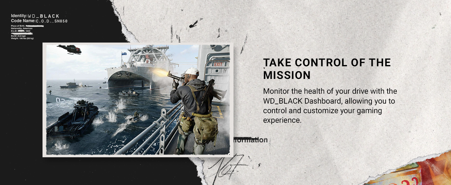 Take control of the mission