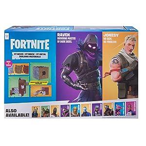 Fortnite Turbo Builder Set 2 Figure Pack, Jonesy & Raven