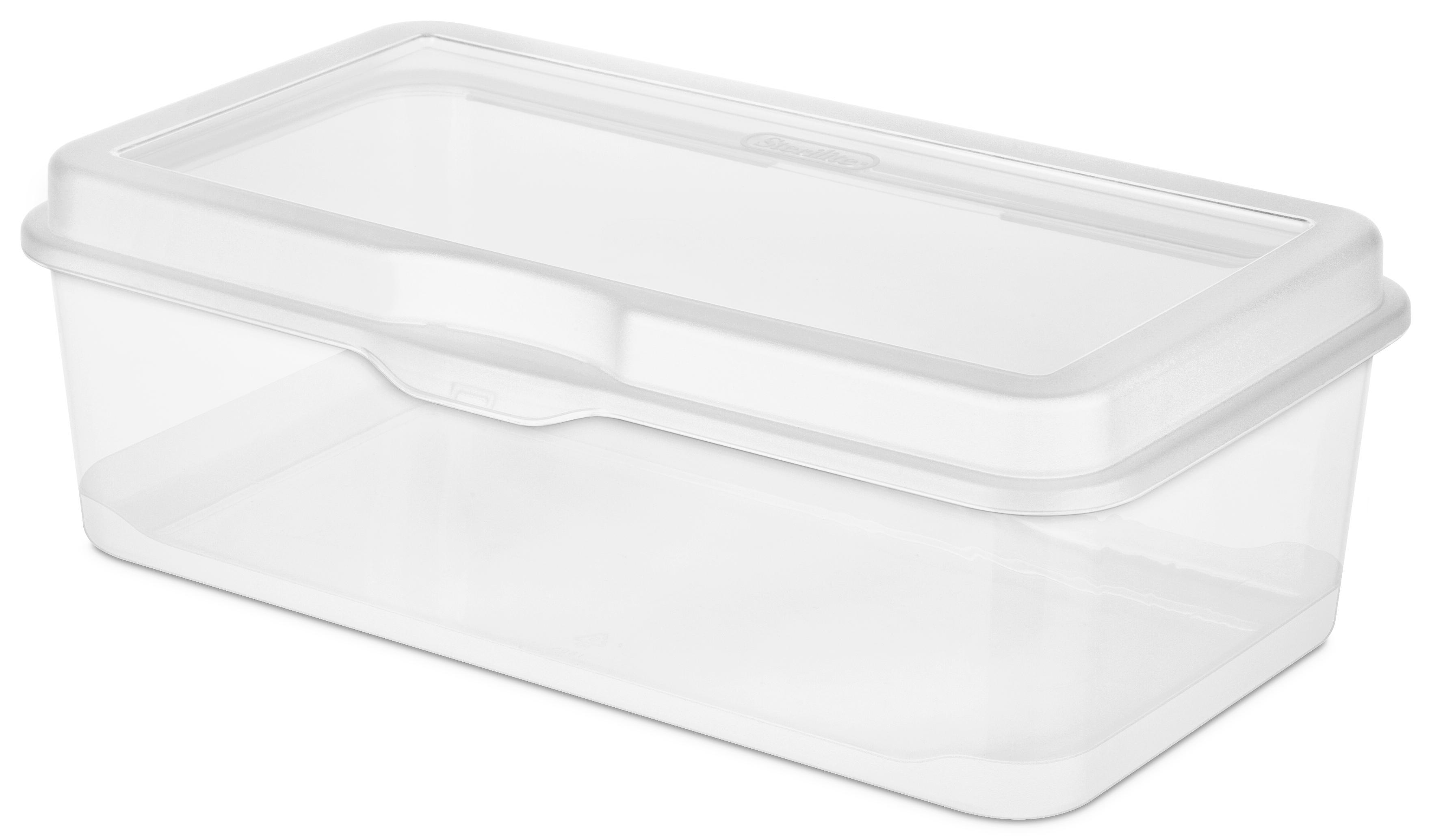 Sterilite Large Flip Top Storage Box