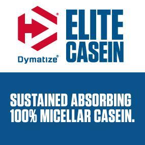 Dymatize, elite casein, casein, protein, protein powder, micellar, micellar casein