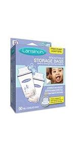 Amazon Com Lansinoh Breastmilk Storage Bags 100 Ct