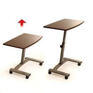 seville classics mobile laptop desk cart home kitchen. Black Bedroom Furniture Sets. Home Design Ideas