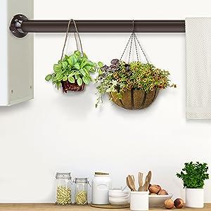 Indoor Garden Hanger Rod