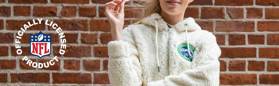 Women's Soft Fleece Sherpa Hoodie Jacket Lightweight, breathable