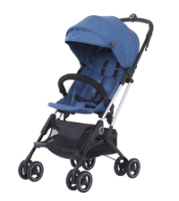 sturdy stroller for baby, Maneuverable stroller, Folds like a book stroller, volgo stroller