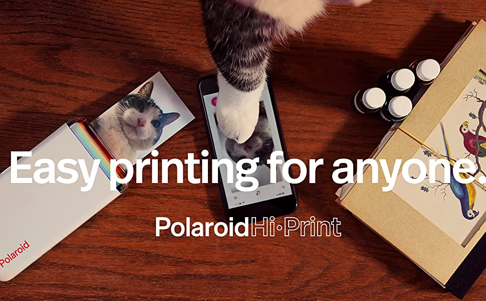 Polaroid; hi-print; polaroid printer; photo printer; photo paper; instant photo; instant printer