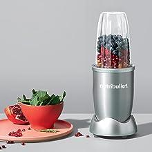 NutriBullet 600W Lifestyle Ingredients Food Blender Power