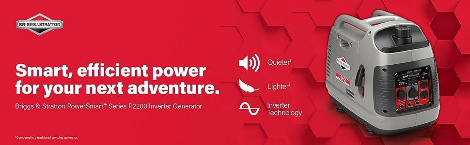 generator; inverter generator; briggs & stratton; portable generator; camping generator; solar power