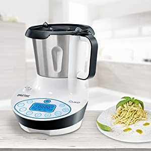Imetec cuk robot da cucina multifunzione con cottura multicooker con 3 programmi automatici - Robot da cucina con cottura ...