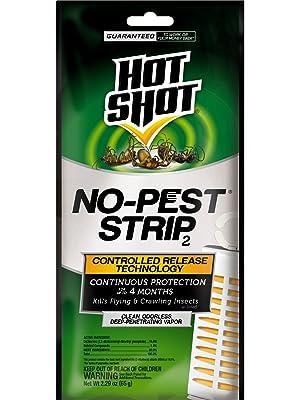 Hot Shot 100046114 No-Pest Strip, Pack of 1