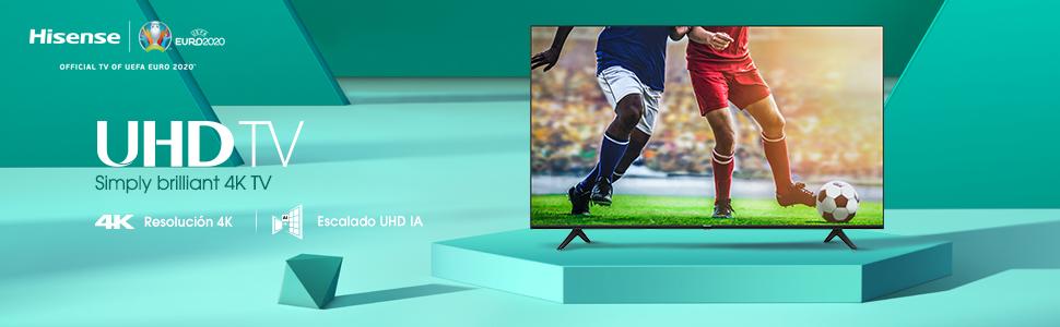 Hisense 58AE7000F (Modelo 2020) - Smart TV 58