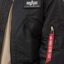 CWU 45/P FLIGHT JACKET sleeve