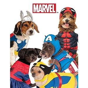 Marvel pet costumes