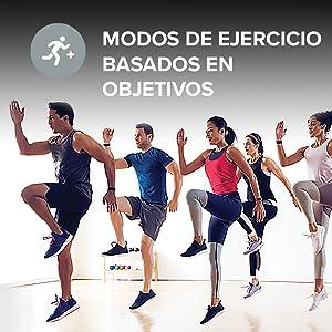 modos de ejercicio