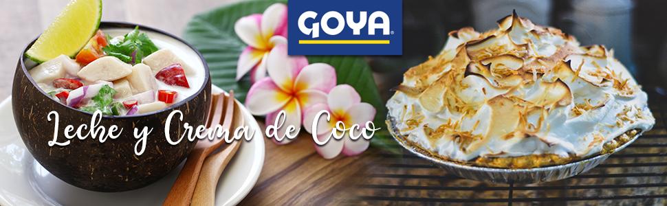 LECHE Y CREMA DE COCO