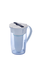 ZeroWater Water Filtration Pitcher 10 Cups Round