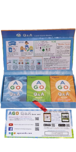 AGO phonice 英語 カード ゲーム