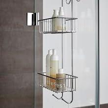 Een ingenieus badkameraccessoire is de douche-caddy Aldo. Perfect voor alle badkamers,