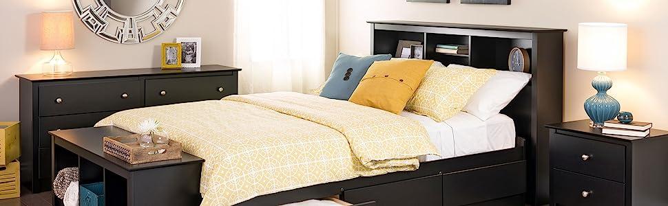 Prepac Sonoma Bedroom Collection