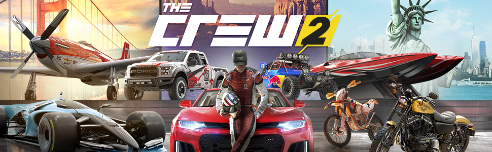 the crew 2 playstation 4 ubisoft video games. Black Bedroom Furniture Sets. Home Design Ideas