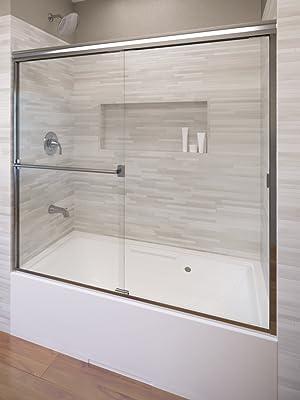 Sliding bathtub Door
