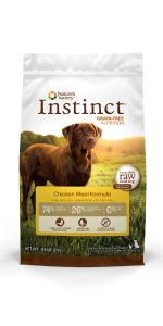 croquetas para perro, perro, alimento seco, instinct