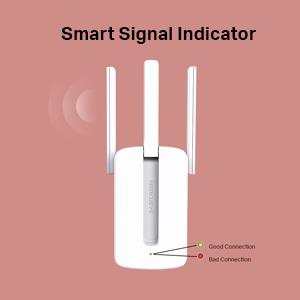 TP-link Mercusys Range Extender MW300RE Wi-Fi WiFi Wireless Booster repeater 300Mbps Speed Coverage
