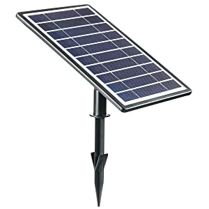 Amazon.com: Solario Solar Powered luz láser proyector w/all ...