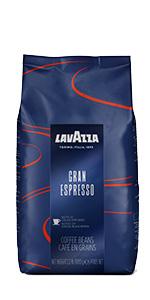 lavazza, gran, espresso, coffee