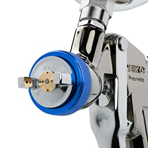 help air paint sprayer gun spray gravity feed