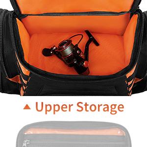 Magreel Angelrucksack gro/ß wasserdichte Angelger/ät Tasche Multifunktionale Taschen zum Angeln Camping Wandern Radfahren