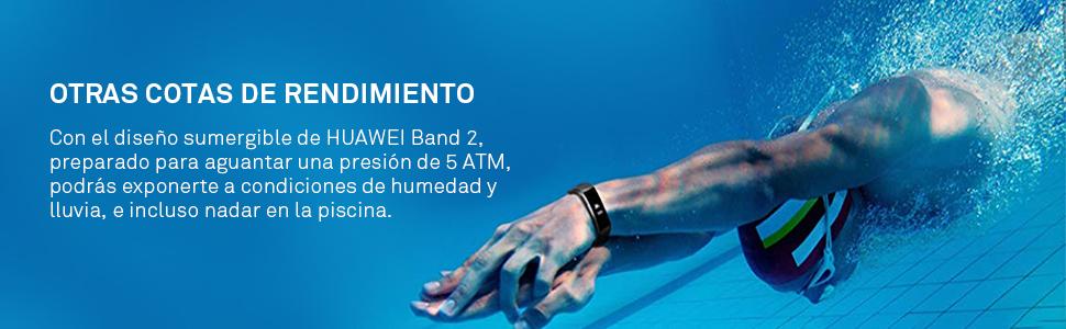 Huawei Band 2 Pro - Pulsera de Actividad, Pantalla Táctil, Monitor ...