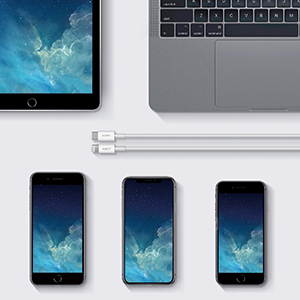 usb-c to lightning cable charging