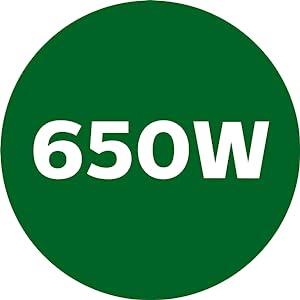 650W Powerful Motor
