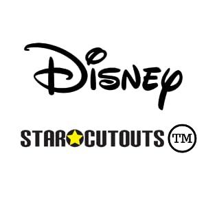 Recortes de cartón con estrellas de Disney