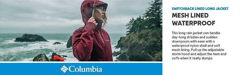 Columbia Women's Switchback Lined Long Rain Jacke