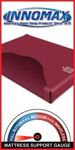 InnoMax Free Flow Hardside Waterbed Mattress
