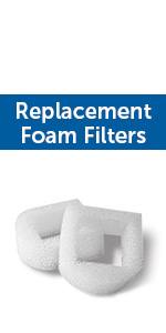water fountain foam filter