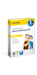 SteuerSparErklärung, Rentner, Verpackung, 2019