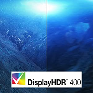 VESA Certified Display HDR 400