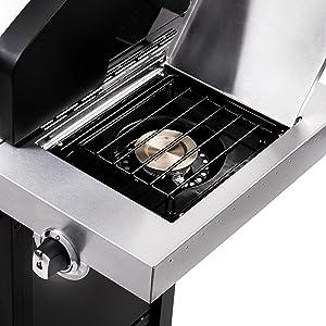 Amazon.com: Parrilla a gas con gabinete infrarojo Char Broil ...