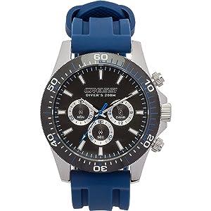 Reloj de buceo Cressi Nereus - plateado / azul