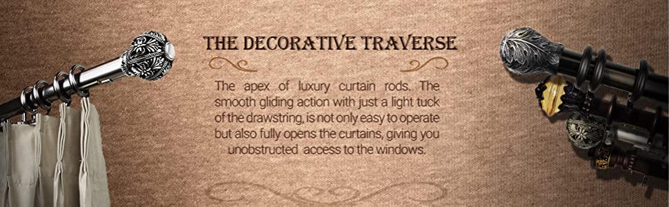 decorative traverse 2