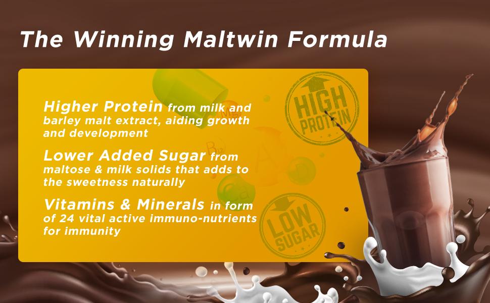 higher protein vitamins & minerals