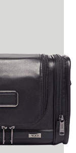 TUMI - Alpha 3 Hanging Leather Travel Kit