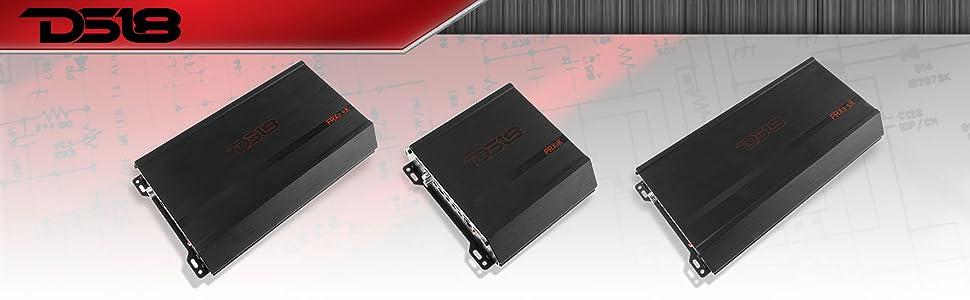 Amazon.com: DS18 FRX2.5K 2,500 Watts RMS Full Range Class D ...