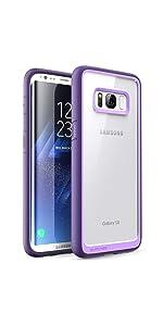 buy popular 921bd a18e5 Amazon.com: SUPCASE Unicorn Beetle Style Case Designed for Galaxy S8 ...