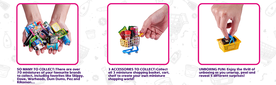 accessories, collect them all, real littles, real mentos littles, essentials
