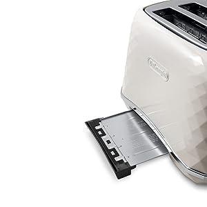 toaster crumb tray